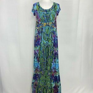 The Pyramid Collection Women's M Dress Maxi Slinky
